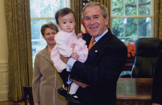 Bush-and-Nora